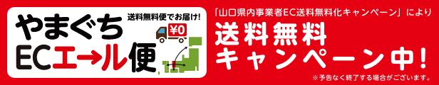 送料無料キャンペーンのお知らせ【やまぐちECエール便】