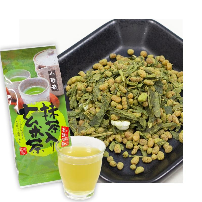 小野茶「抹茶入り玄米茶」150g画像1