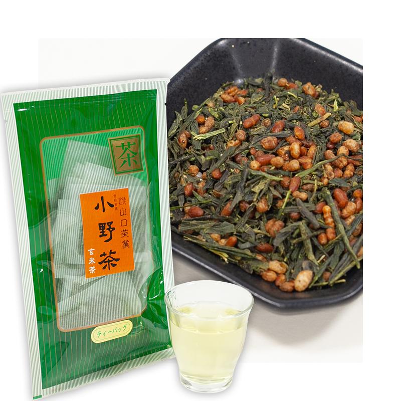 小野茶「玄米茶」5g30包 ティーバッグ画像1
