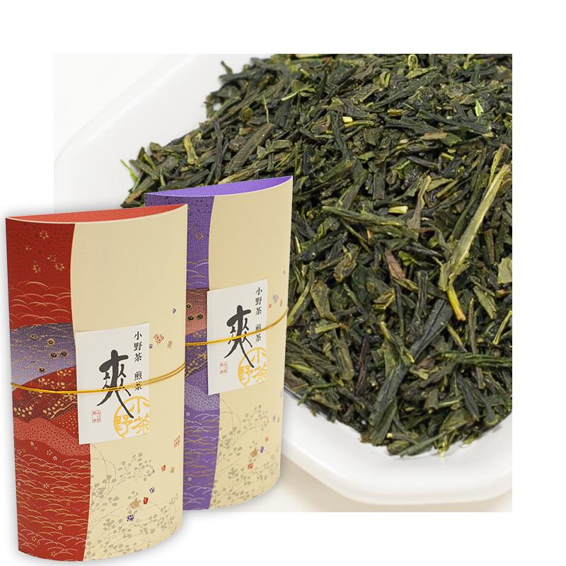 小野茶ギフト「上煎茶 爽」2袋各70g画像1