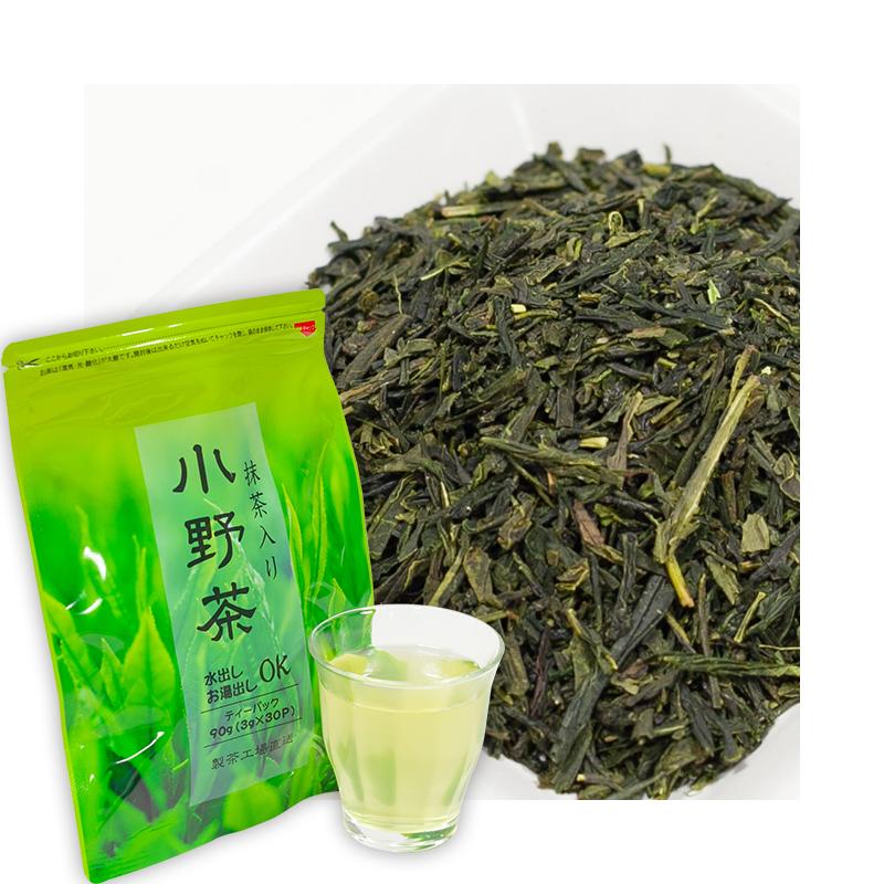 小野茶「抹茶ブレンド」3g30包 ティーバッグ画像1
