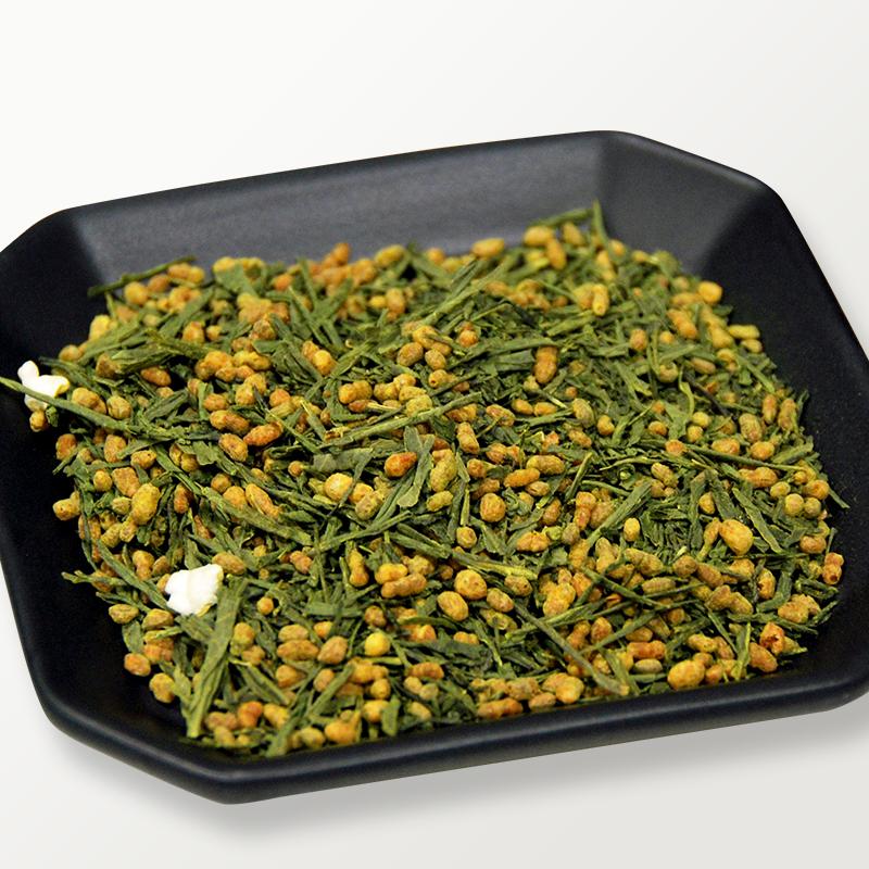 小野茶「抹茶入玄米茶」100g画像3
