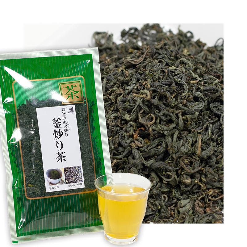 小野茶「釜炒り茶」100g画像1