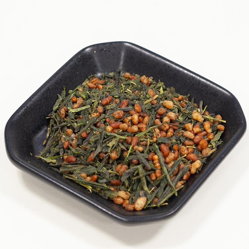 小野茶「抹茶玄米茶」100g画像3